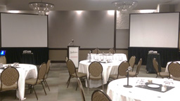 Audio Visual for events at the Radison Hotel in Winnipeg