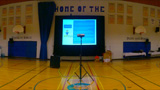 3 Projection Screens and Sound System in School Gym for Inservice