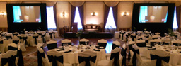 Dual 12 Foot Wide Front Projection System - Fort Garry Hotel Grand Ballroom