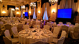 Fort Garry Hotel Provencher Room Dual Projection Screens And Sound System