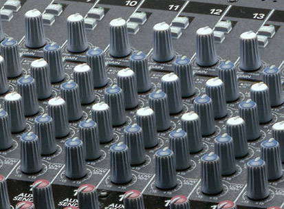 Mackie Onyx 1640 Soundboard EQ Section