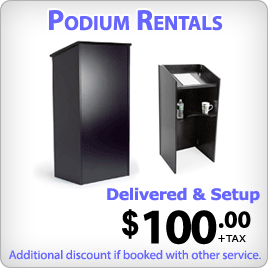Winnipeg Podium Rentals