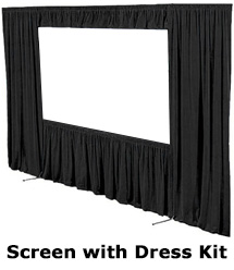 Rear Projection Screen by Draper