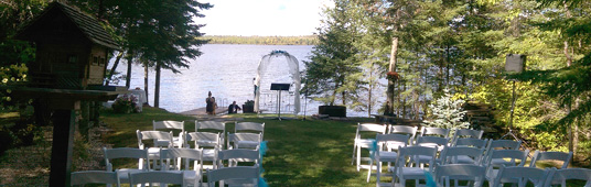 Sound System Rental for Outdoor Wedding Ceremony