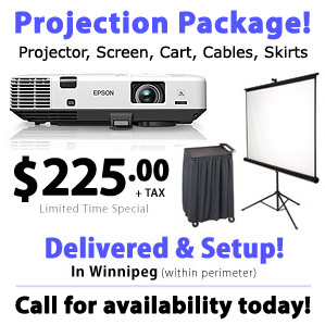 Winnipeg Projector Rental with Delivery